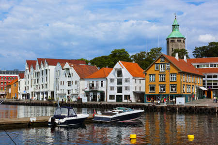 Stavanger Norway - architecture and travel background photo