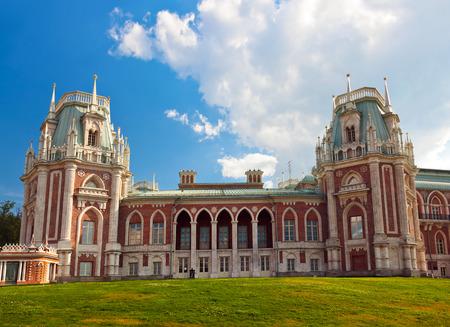 palacio ruso: Tsaritsino palacio - museo ruso en Mosc?