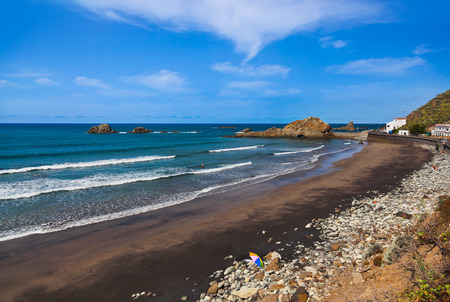 Coast at Taganana in Tenerife island - Canary Spain photo