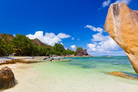 shallop: Tropical island at Seychelles