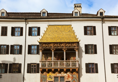 Famous golden roof in Innsbruck Austria - architecture  photo