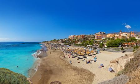 Beach Las Americas in Tenerife island - Canary Spain