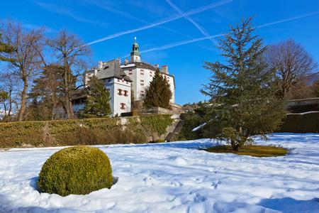 schloss: Palace of Ambras (Schloss Ambras) - Innsbruck Austria