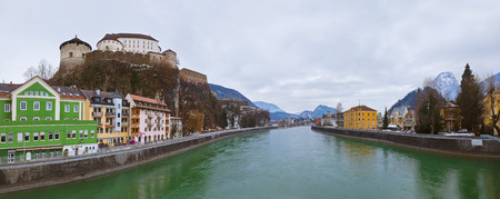 Castle Kufstein in Austria - architecture and travel background photo
