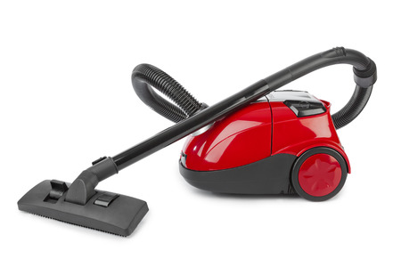 vacuum cleaner: Vacuum cleaner isolated on white background