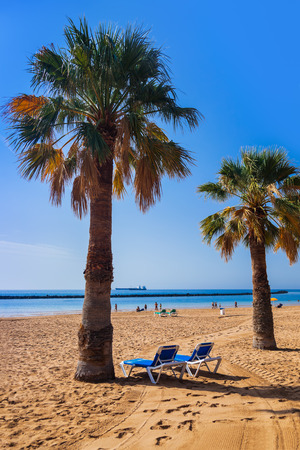 Beach Teresitas in Tenerife - Canary Islands Spain photo