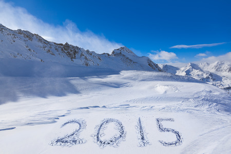 tirol: 2015 on snow at mountains - Hochgurgl Austria - nature and sport background