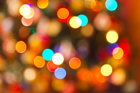 Abstract blurred photography bokeh - holiday background photo