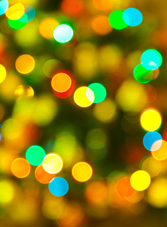 Abstract blurred photography bokeh  photo