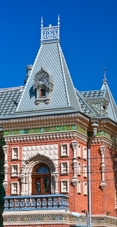 intresting: Historic Igumnov House in Moscow Russia (today French Ambassador)