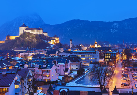 castle: Castle Kufstein in Austria - architecture and travel background Editorial