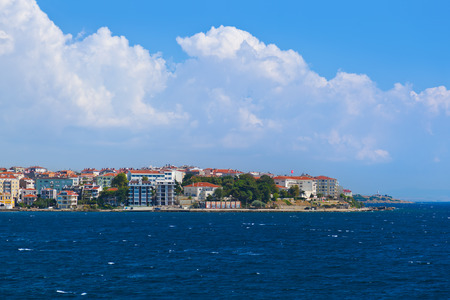 troya: Dardanelles Channel at Turkey - travel background