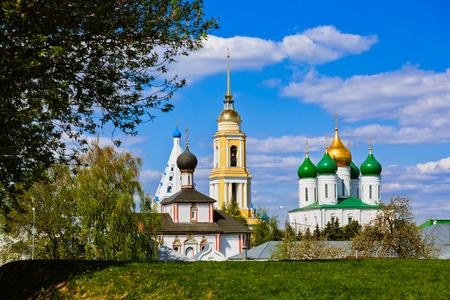 Churches in Kolomna Kremlin - Russia - Moscow region photo