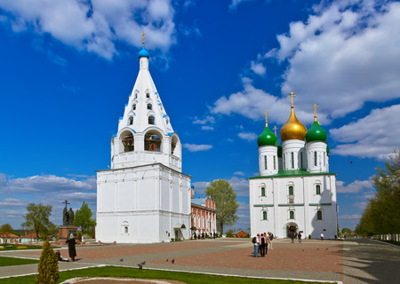 Cathedral square in Kolomna Kremlin - Russia - Moscow region photo