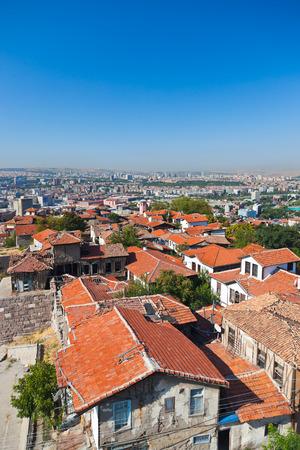 castle: Old Ankara Turkey - architecture travel background