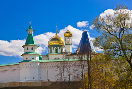 castle: Famous New Jerusalem monastery - Istra Russia