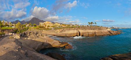 the americas: Beach Las Americas in Tenerife island - Canary Spain