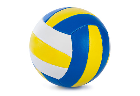 Volleyball ball isolated on a white background photo