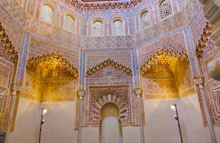 arabic architecture: Arabic architecture in Granada Spain - religion background
