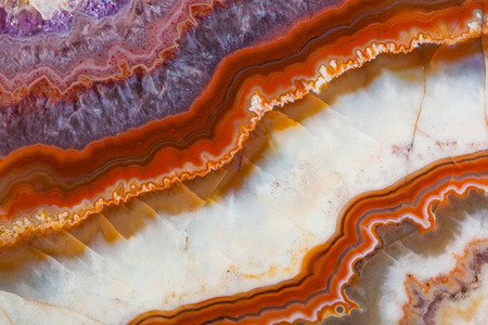 agate: Stone texture - abstract background Stock Photo