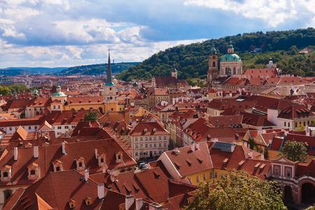 praha: View to Praha - Czech republic