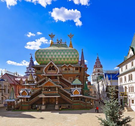 kremlin: Izmailovo Kremlin - Moscow Russian - architecture background
