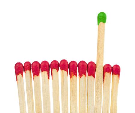 liderazgo: Emparejamientos - o el concepto de la inspiración aisladas sobre fondo blanco Foto de archivo