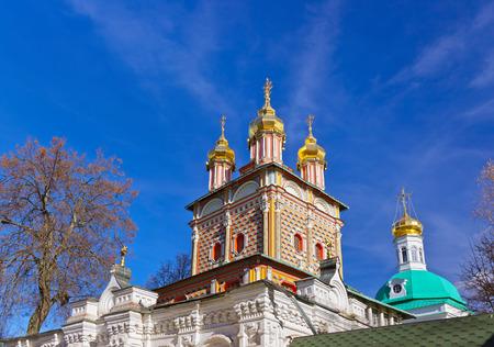 lavra: Church in the Trinity Sergius Lavra in Sergiev Posad - Russia