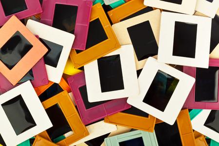 photo slide: Photo frames for slide - art background