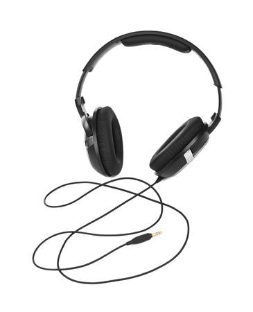 minijack: Headphones isolated on white background