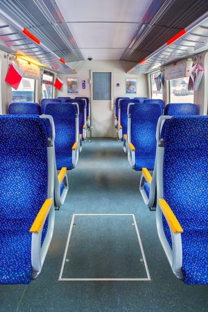 sala recepcyjna: Interior of train - transportation travel background