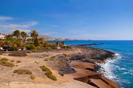 the americas: Beach Las Americas in Tenerife island