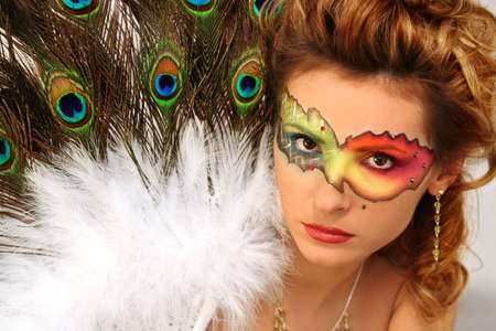 peacock eye: masquerade
