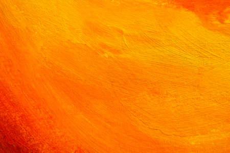 orange texture. hand painted background. Stock Photo - 9869633
