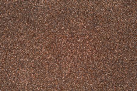 roofing felt: sand texture of rubberoid, asphalt macro background Stock Photo
