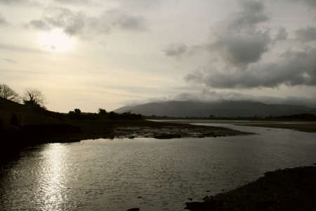 mourne: DUNDRUM SUNSET