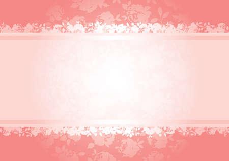 rosa negra: San Valent�n de rosas con fondo copia el espacio. Todos los elementos est�n separados y completamente editable Vectores