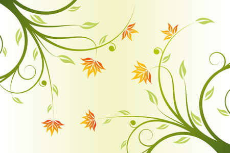 Abstract floral design background for creative ideas Vector