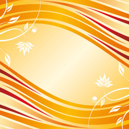 Abstract floral design background for creative ideas Illustration