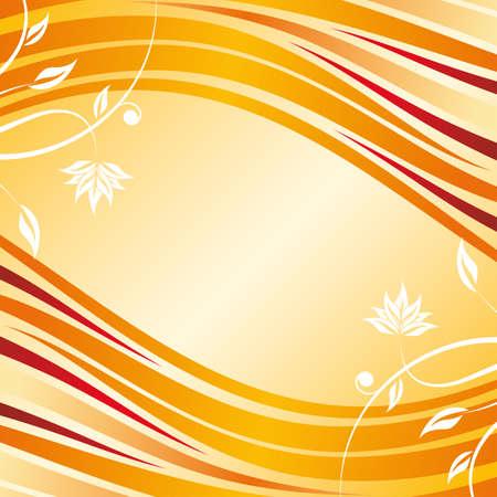 smooth curve design: Resumen dise�o floral de fondo para las ideas creativas