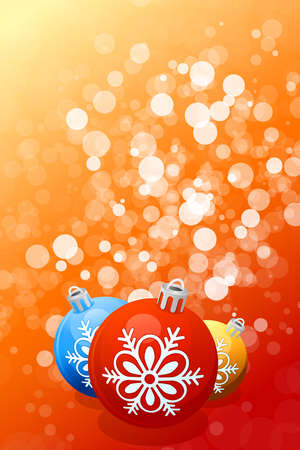 luminosity: Red Christmas background with Christmas balls and sparkles