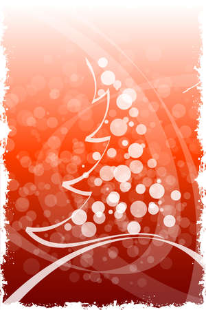 Abstract Grunge Winter and Christmas background in blue color Vector