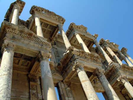 the library of celsus photo