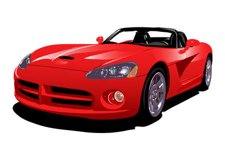 red sport car Stock Photo - 871107