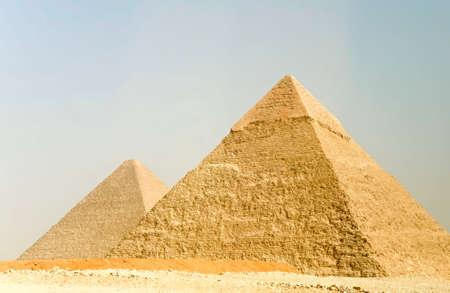 Piramids in Giza, Egypt photo