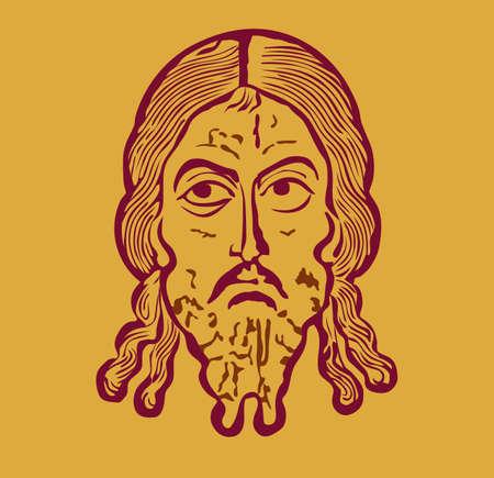 illustartion of Jesus Christ Stock Vector - 7116387