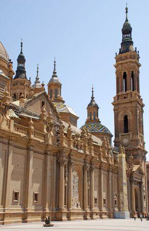 adulation: cathedral in Zaragoza