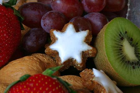 Close-up of festive food Stock Photo
