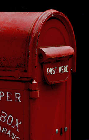 Red Mail or Post Box