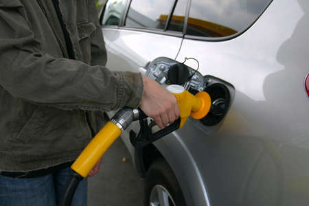 Filling Up with gas or petrol Stock Photo - 1551383